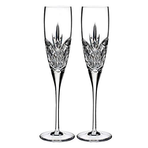 Waterford Crystal Love flautas de champán para siempre (par)