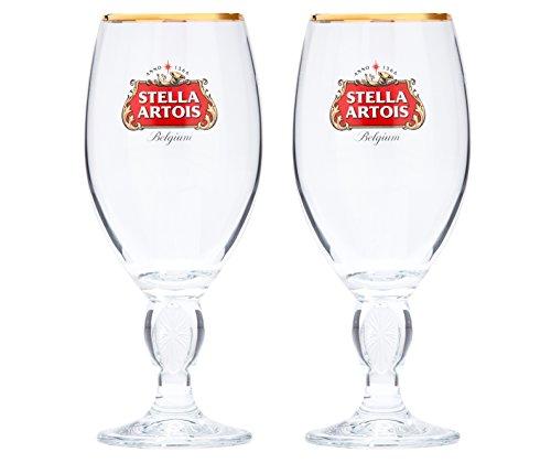 Stella Artois 33-Centiliter Star Chalice, Set of 2 by Boelter Brands