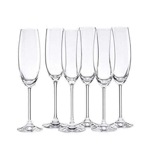 Lenox Tuscany Classics Set de copas de champán, comprar 4, obtener 6, 1,5 kg, transparente