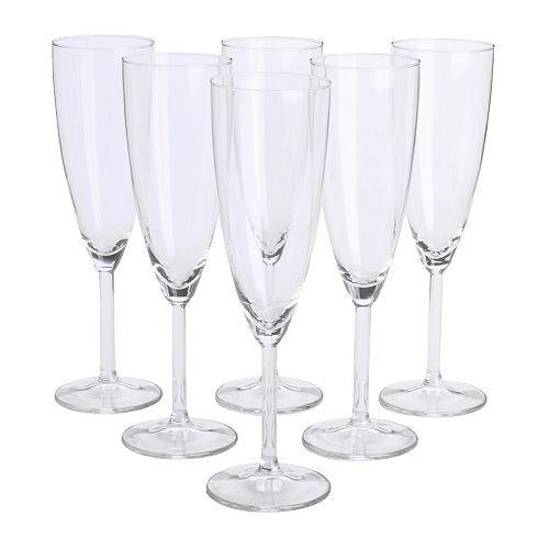 Ikea Svalka - Copas de champán (6 unidades)