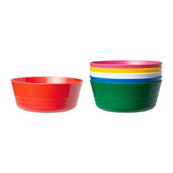 Ikea Kalas vajilla infantil de plástico