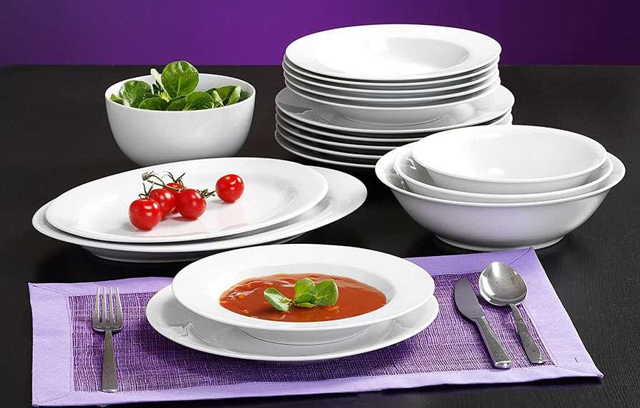 Ritzenhoff vajilla de platos blancos