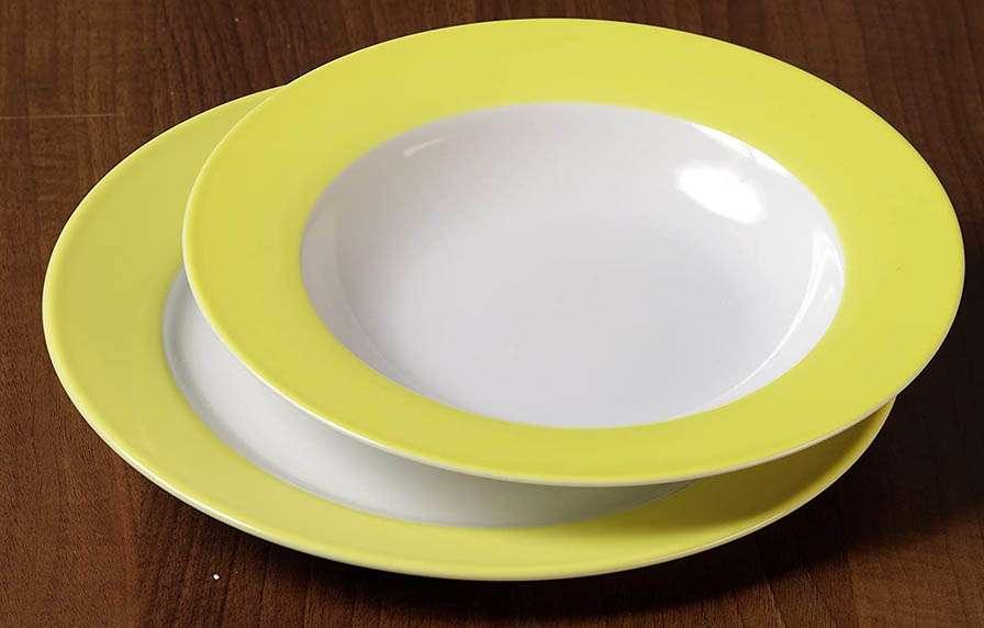 Vajilla amarilla Ritzenhoff