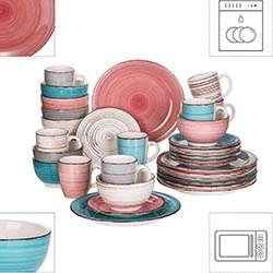 Vancasso Platos de Gres Multicolor