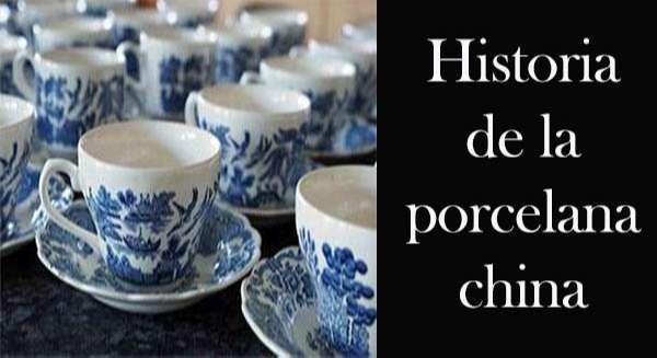 Historia de la porcelana china