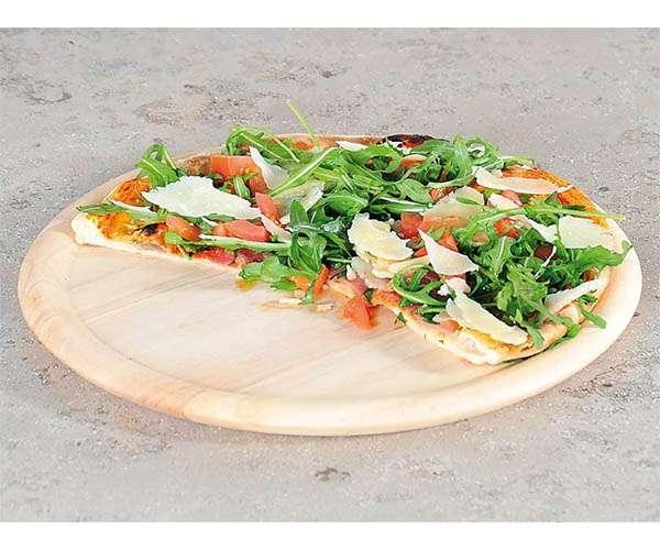 Plato pizza madera