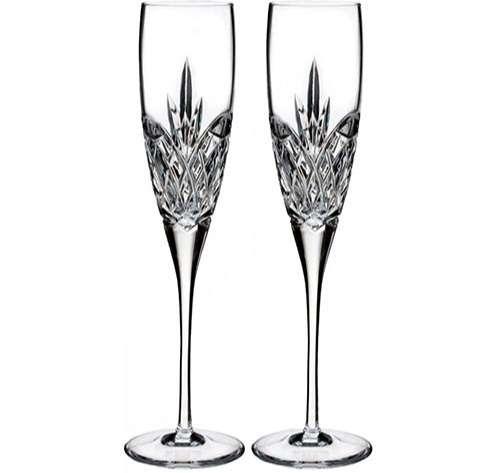 Waterford Crystal Copas de champán para regalo