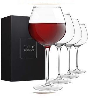 Elixir Cristalería Copas de vino tinto
