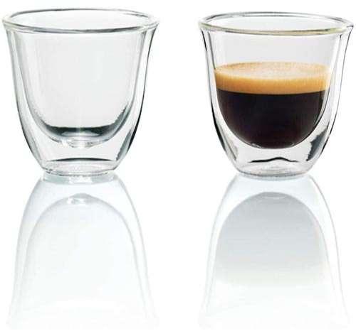 Juego de 2 vasos de café De'Longhi premium