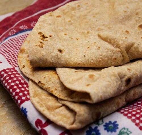 Chapatis para comer