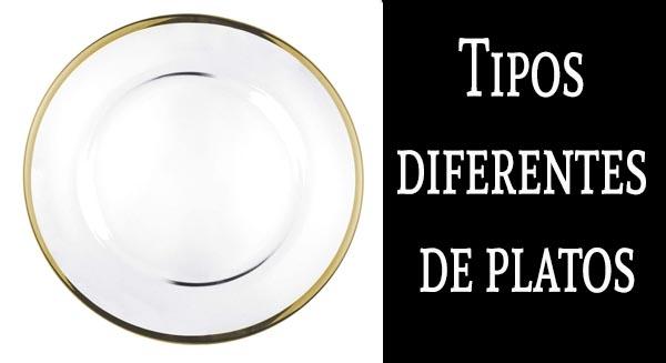 Tipos diferentes de platos